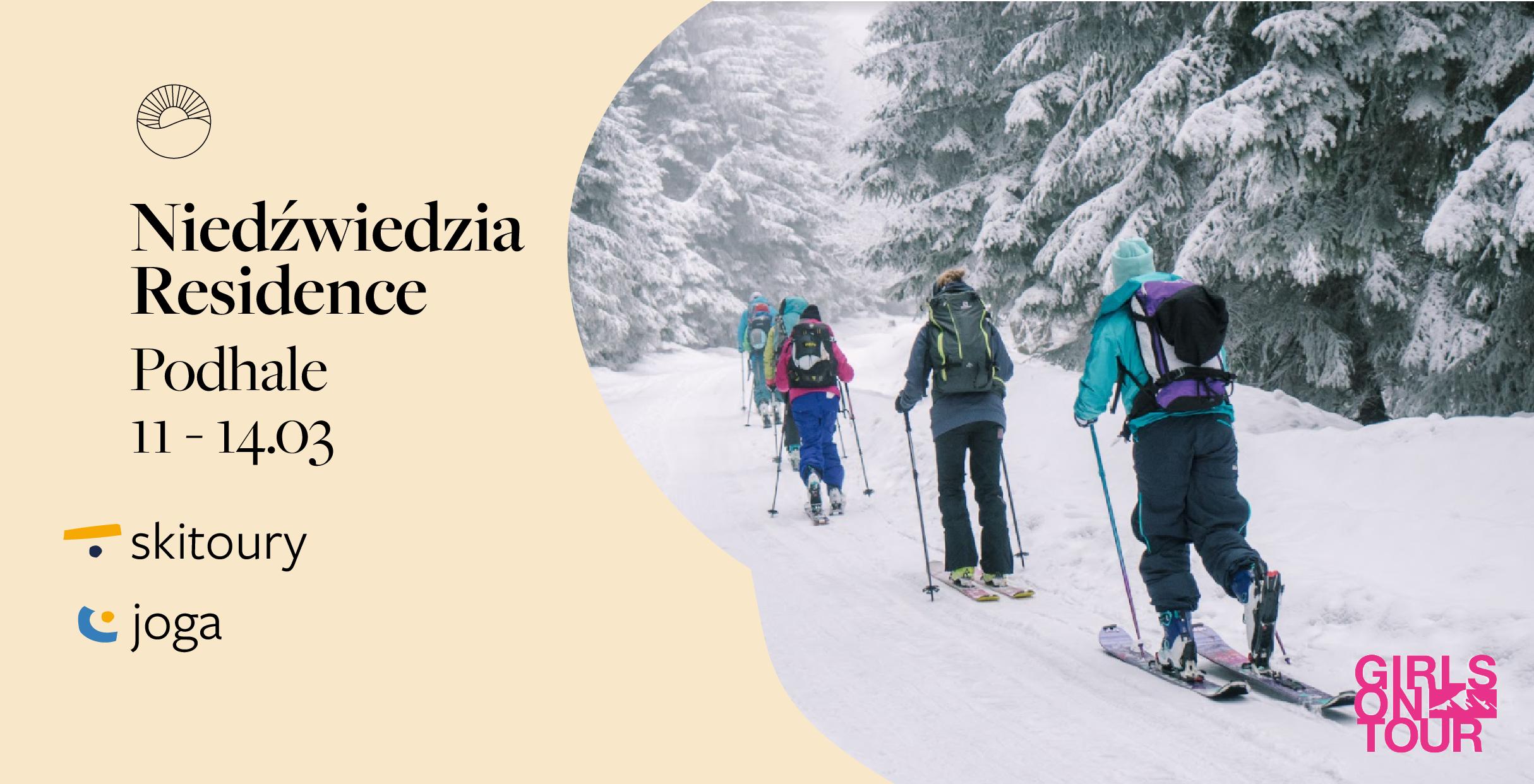 Slow weekend & skitoury & joga